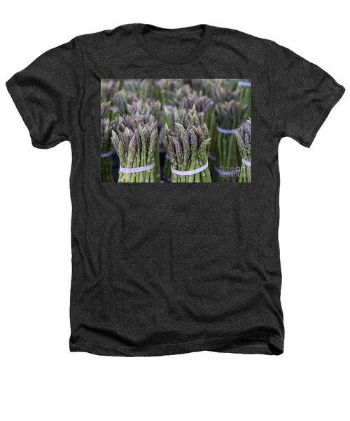 Fresh Asparagus Heathers T-Shirt by Mike  Dawson