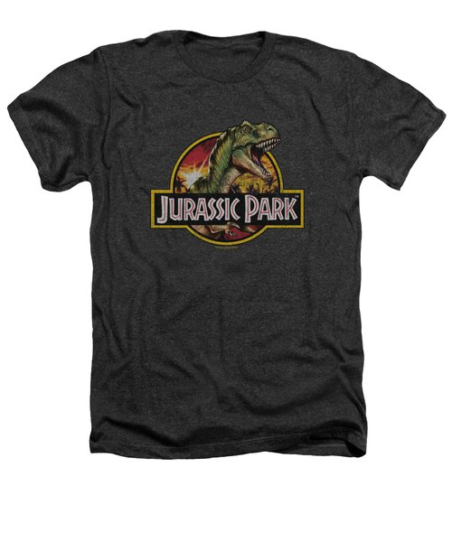 Jurassic Park - Retro Rex Heathers T-Shirt by Brand A