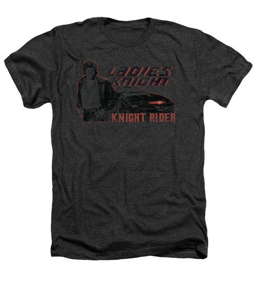 Knight Rider - Ladies Knight Heathers T-Shirt