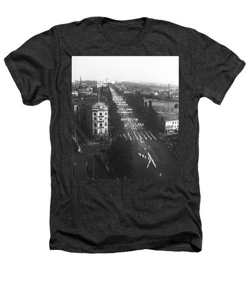 Ku Klux Klan Parade Heathers T-Shirt by Underwood Archives