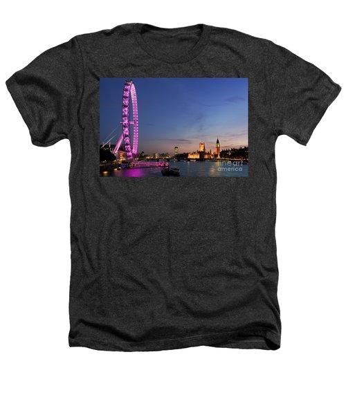 London Eye Heathers T-Shirt by Rod McLean