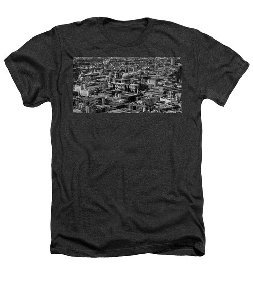London Skyline Heathers T-Shirt by Martin Newman