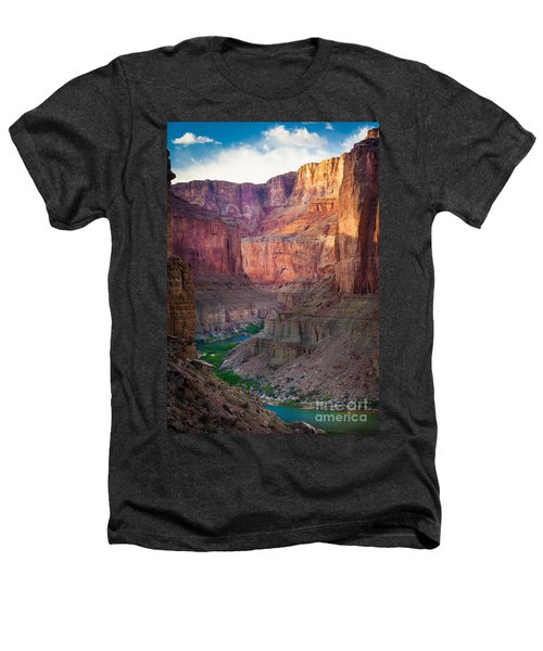 Marble Cliffs Heathers T-Shirt by Inge Johnsson