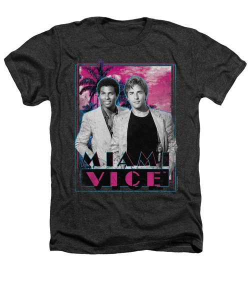 Miami Vice - Gotchya Heathers T-Shirt by Brand A