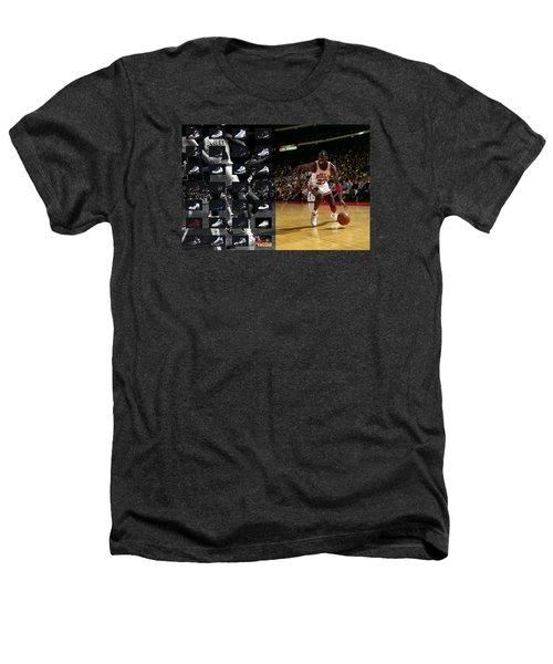 Michael Jordan Shoes Heathers T-Shirt by Joe Hamilton