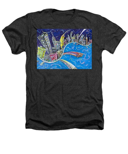 New York City Nights Heathers T-Shirt