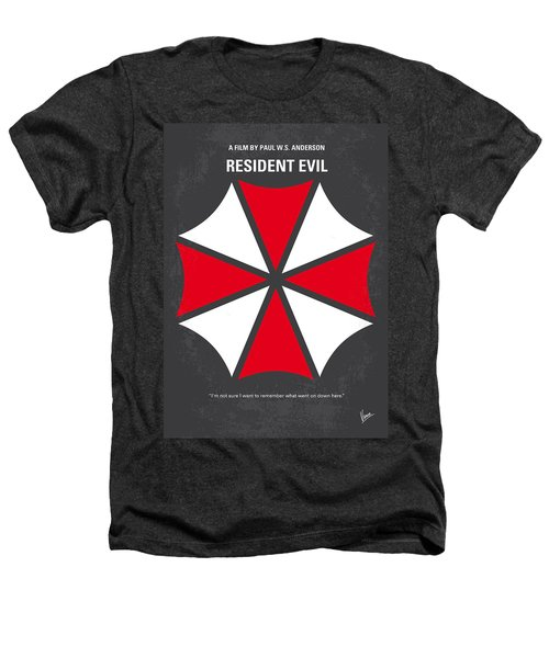 No119 My Resident Evil Minimal Movie Poster Heathers T-Shirt by Chungkong Art