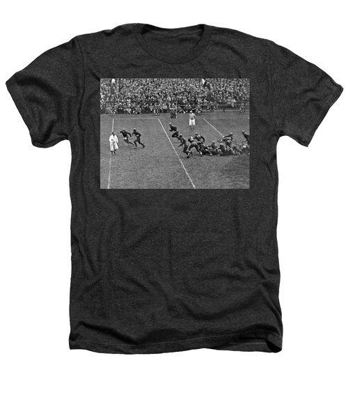Notre Dame Versus Army Game Heathers T-Shirt by Underwood Archives