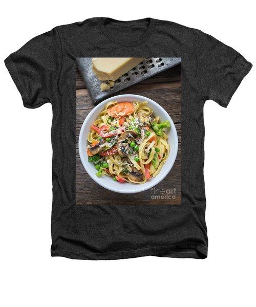 Pasta Primavera Dish Heathers T-Shirt by Edward Fielding