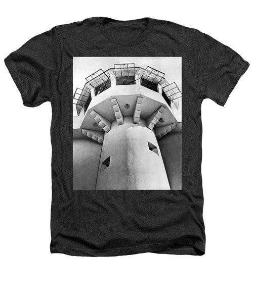 Prison Guard Tower Heathers T-Shirt by Underwood Archives