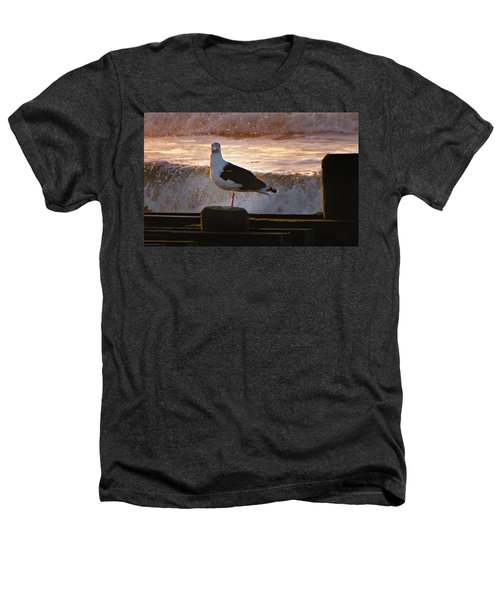 Sittin On The Dock Of The Bay Heathers T-Shirt by David Dehner