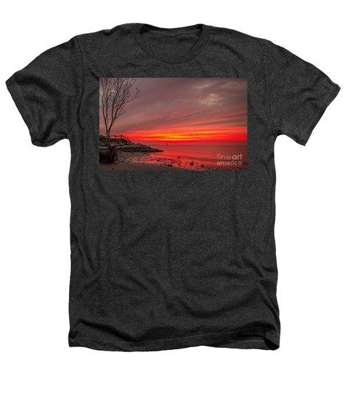 Sky Fire Heathers T-Shirt