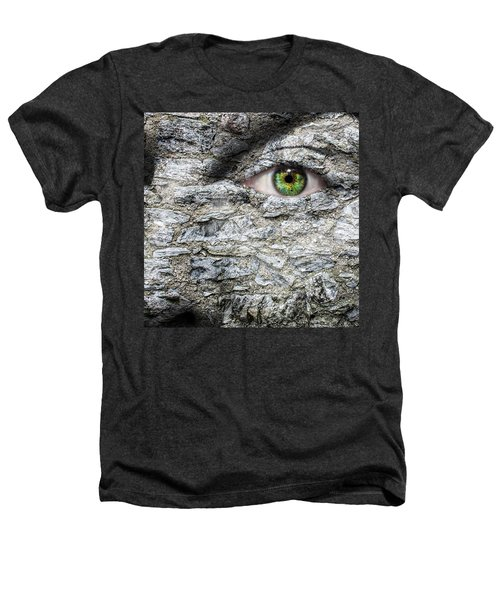 Stone Face Heathers T-Shirt by Semmick Photo