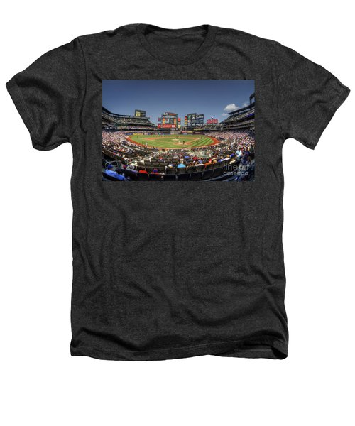 Take Me Out To The Ballgame Heathers T-Shirt