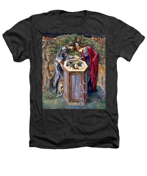 The Baleful Head, C.1876 Heathers T-Shirt by Sir Edward Coley Burne-Jones