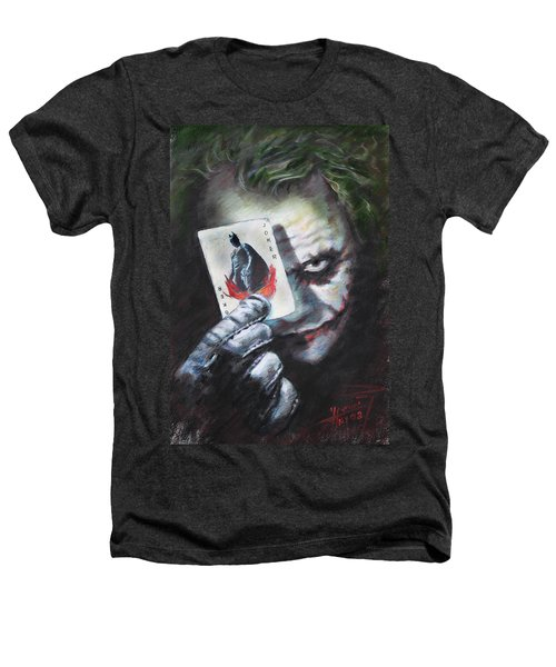 The Joker Heath Ledger  Heathers T-Shirt