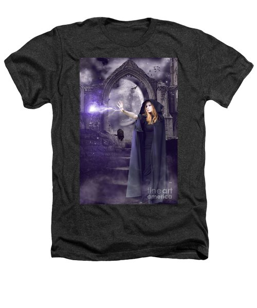 The Spell Is Cast Heathers T-Shirt by Linda Lees