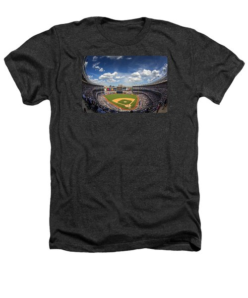 The Stadium Heathers T-Shirt by Rick Berk