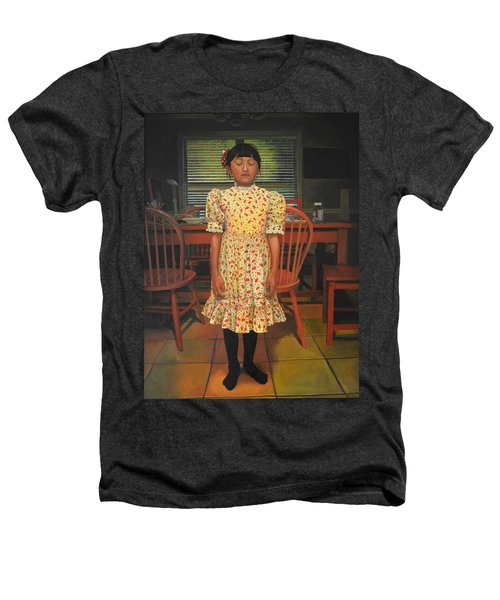 The Valentine Dress Heathers T-Shirt by Thu Nguyen