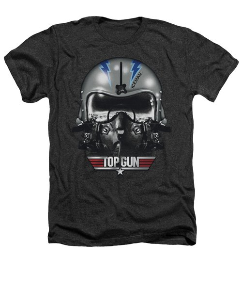 Top Gun - Iceman Helmet Heathers T-Shirt