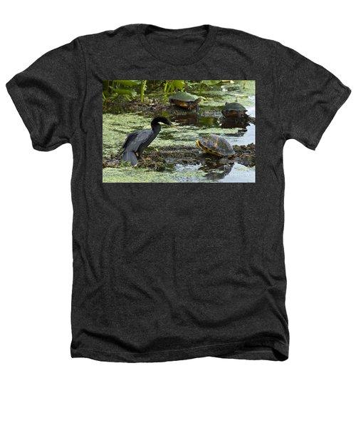 Turtles And Anhinga Heathers T-Shirt
