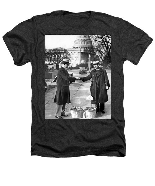 Unemployed Man Sells Apples Heathers T-Shirt by Underwood Archives