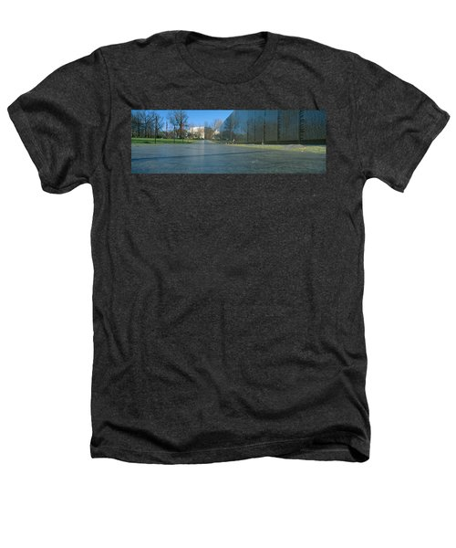 Vietnam Veterans Memorial, Washington Dc Heathers T-Shirt by Panoramic Images