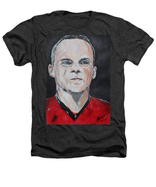 Wayne Rooney Heathers T-Shirt by John Halliday