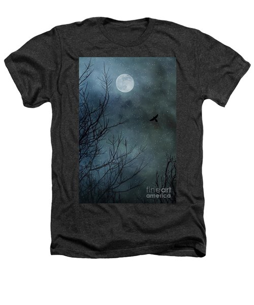 Winter's Silence Heathers T-Shirt by Trish Mistric