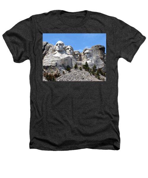 Mount Rushmore Usa Heathers T-Shirt