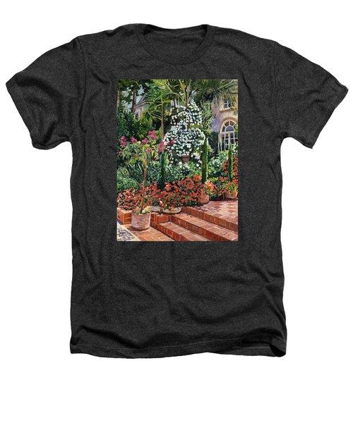 A Garden Approach Heathers T-Shirt by David Lloyd Glover