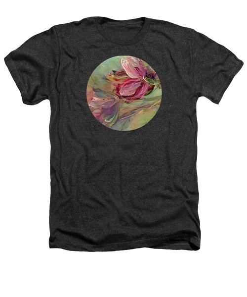 Flower Blossoms Heathers T-Shirt by Mary Wolf