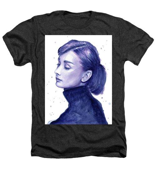 Audrey Hepburn Portrait Heathers T-Shirt