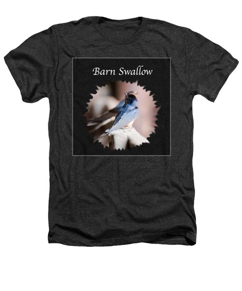 Barn Swallow Heathers T-Shirt by Jan M Holden