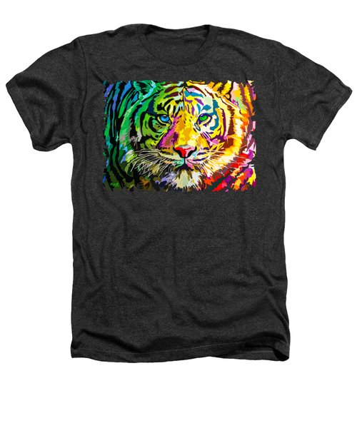Colorful Tiger Heathers T-Shirt