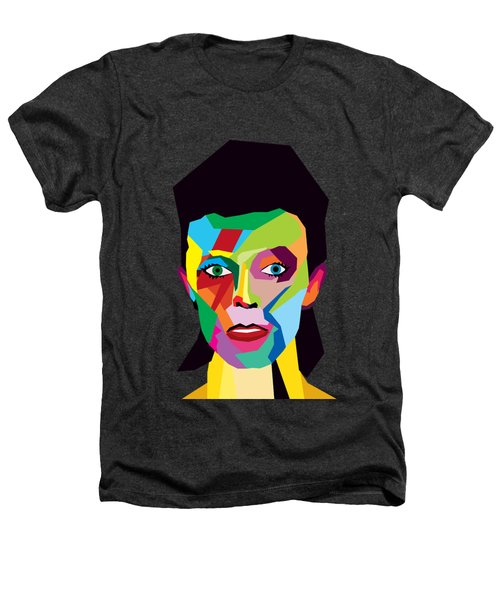 David Bowie Heathers T-Shirt by Mark Ashkenazi