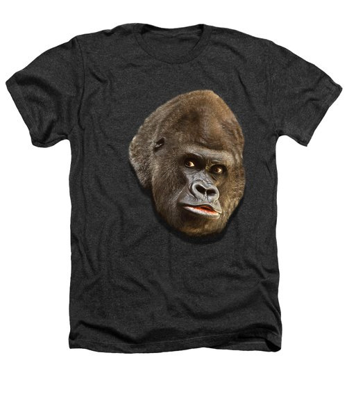Gorilla Heathers T-Shirt by Ericamaxine Price