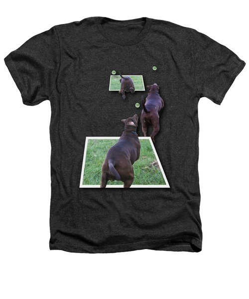 Keep Your Eye On The Ball Heathers T-Shirt