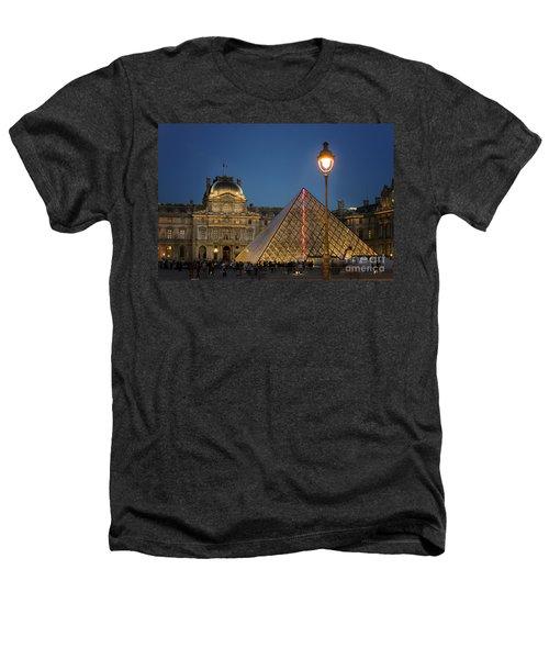 Louvre Museum At Twilight Heathers T-Shirt by Juli Scalzi