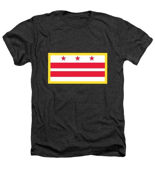 Washington, D.c. Flag Heathers T-Shirt by Frederick Holiday