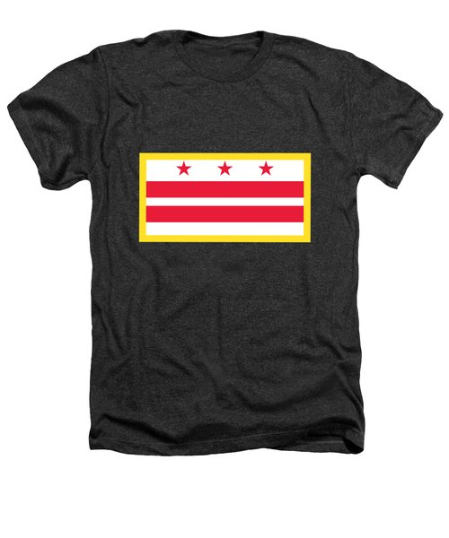 Washington, D.c. Flag Heathers T-Shirt