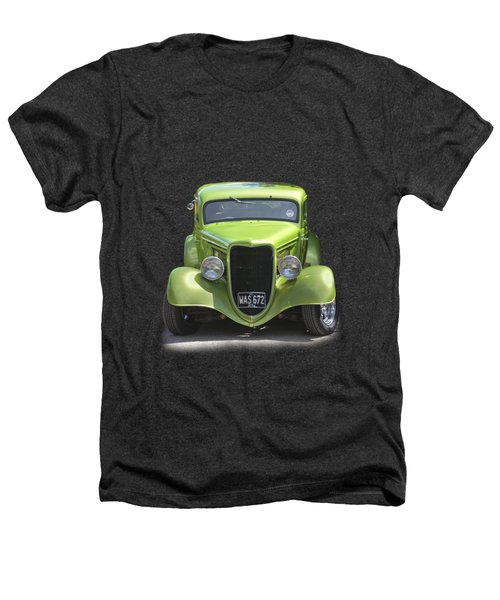 1934 Ford Street Hot Rod On A Transparent Background Heathers T-Shirt by Terri Waters