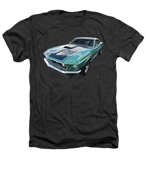 1969 Green 428 Mach 1 Cobra Jet Ford Mustang Heathers T-Shirt