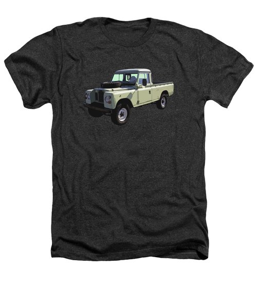 1971 Land Rover Pickup Truck Heathers T-Shirt by Keith Webber Jr