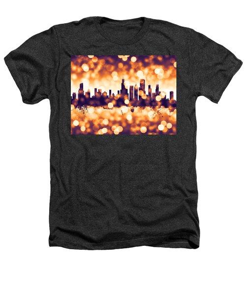 Chicago Illinois Skyline Heathers T-Shirt