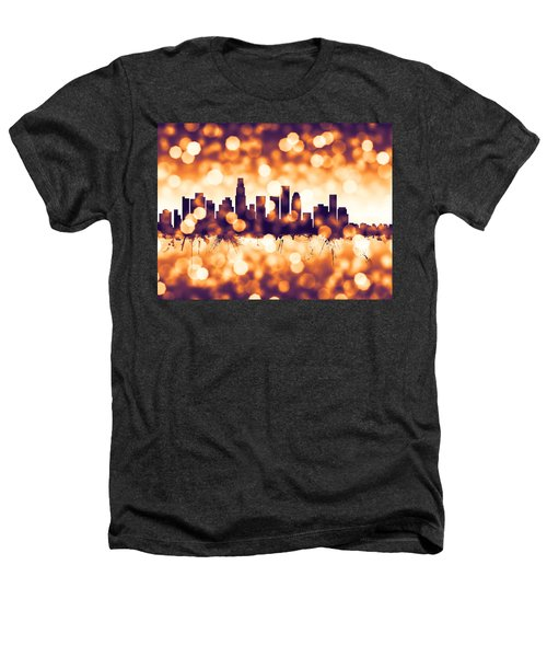 Los Angeles California Skyline Heathers T-Shirt