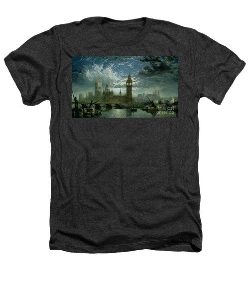 A View Of Westminster Abbey And The Houses Of Parliament Heathers T-Shirt