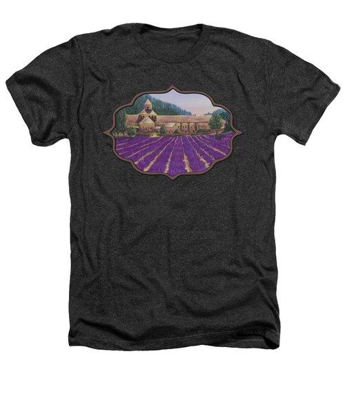 Abbaye Notre-dame De Senanque Heathers T-Shirt