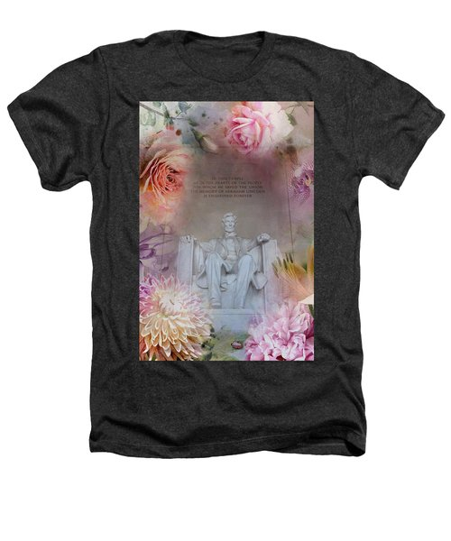 Abraham Lincoln Memorial At Spring Heathers T-Shirt