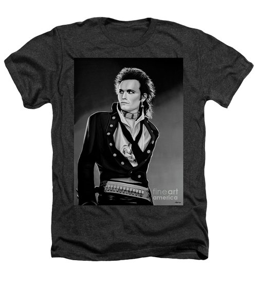Adam Ant Painting Heathers T-Shirt by Paul Meijering